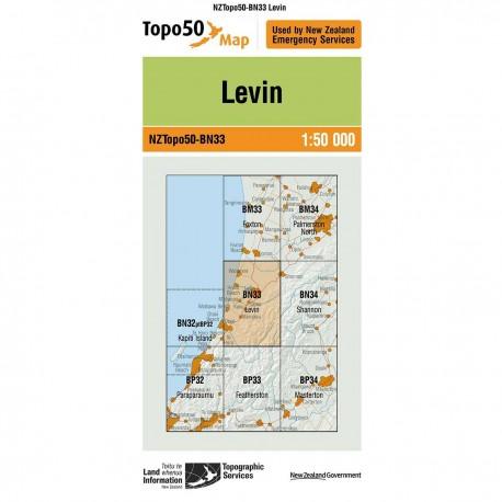 Topo50 BN33 Levin