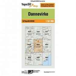 Topo50 BM36 Dannevirke