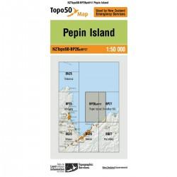 Topo50 BP26 Pepin Island