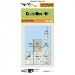 Topo50 BP27 Croisilles Hill