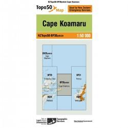 Topo50 BP30 Cape Koamaru