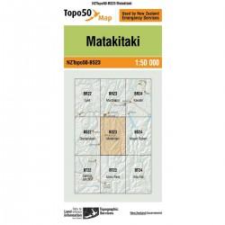 Topo50 BS23 Matakitaki