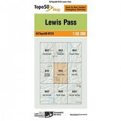 Topo50 BT23 Lewis Pass