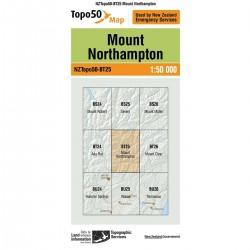 Topo50 BT25 Mount Northampton