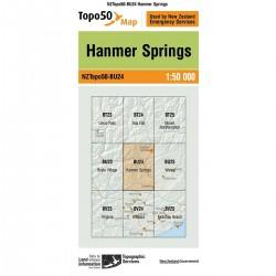 Topo50 BU24 Hanmer Springs