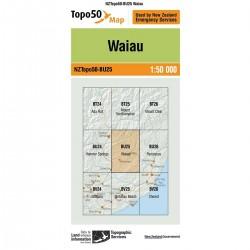 Topo50 BU25 Waiau