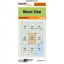 Topo50 BT26 Mount Clear