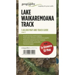 Lake Waikaremoana Track Map