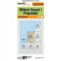 Topo50 CA08 Milford Sound/Piopiotahi