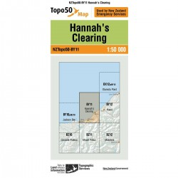 Topo50 BY11 Hannah's Clearing