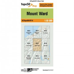 Topo50 BY14 Mount Ward