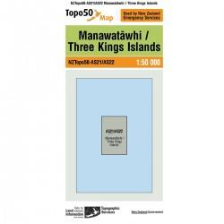 Topo50 AS21/AS22 Manawatawhi/Three Kings Island