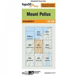 Topo50 BZ11 Mount Pollux