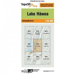 Topo50 CA13 Lake Hawea