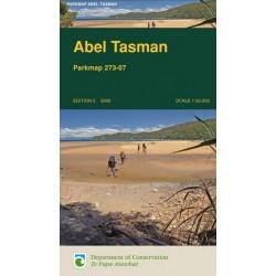 Abel Tasman Parkmap (Rolled)