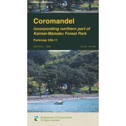 Coromandel Parkmap (Folded)