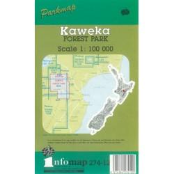 Kaweka Forest Parkmap (Rolled)
