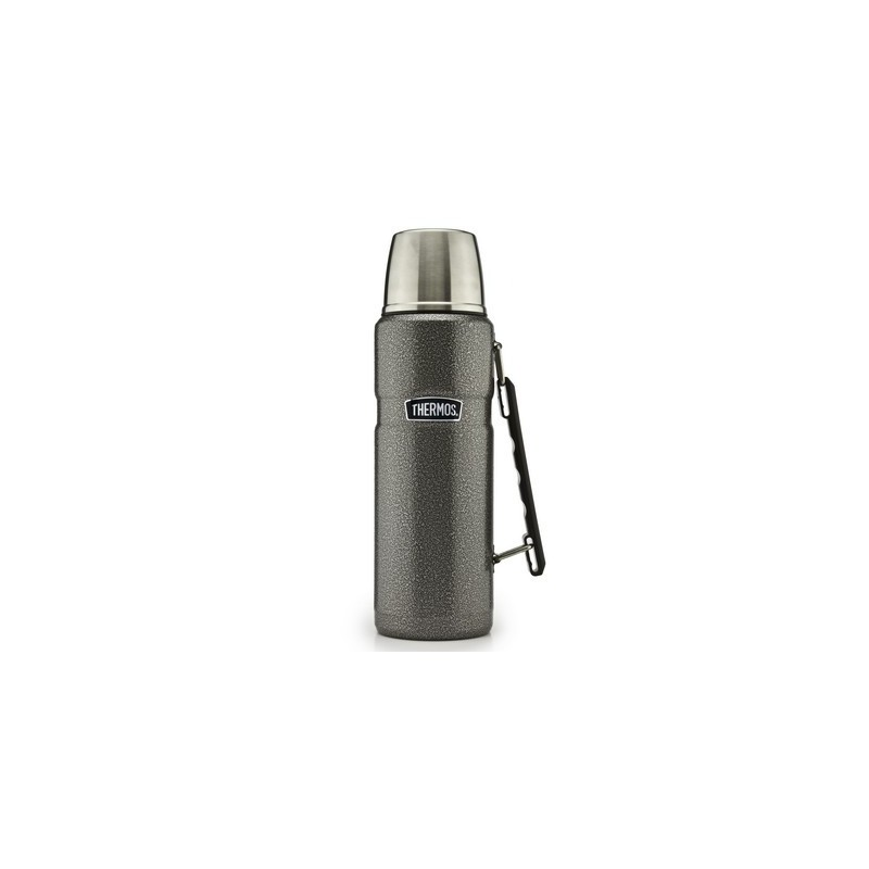 thermos flask stainless steel hammertone 1 2 litres. Black Bedroom Furniture Sets. Home Design Ideas
