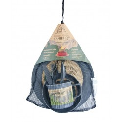 EcoSouLife Camping Food Set-Biodegradable - Charcoal