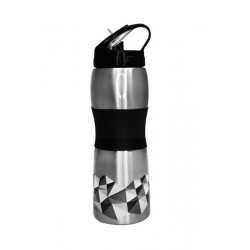 Cheeki Sports Bottle 600ml - 3D Slate
