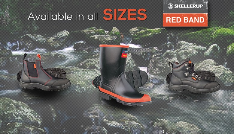 Red Band gumboots are considered New Zealand best gumboots, and we have them at New Zealands best prices!