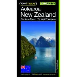 NZ Aotearoa Pathfinder Map 108
