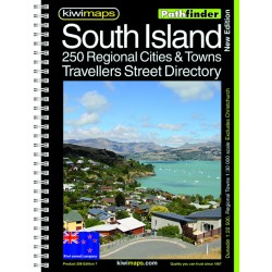 South Island Provincal Towns A4 Bookmap 208