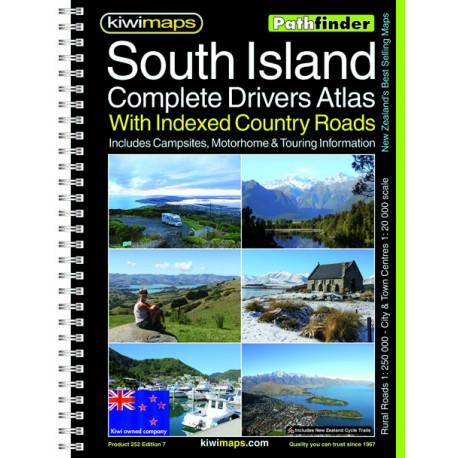South Island Rural Roads A4 Bookmap 252