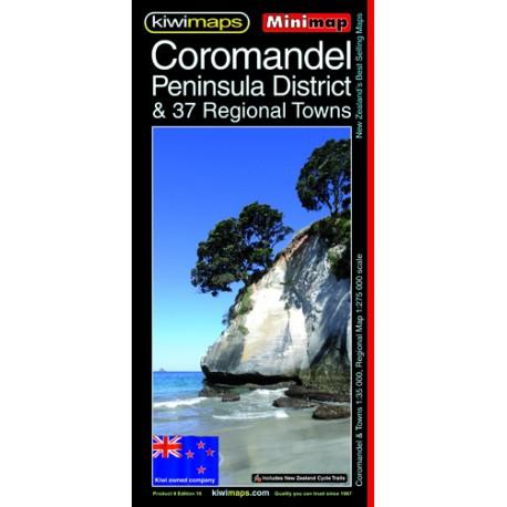 Coromandel Peninsula & Towns Minimap 8