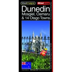 Dunedin Mosgiel Oamaru Minimap 9