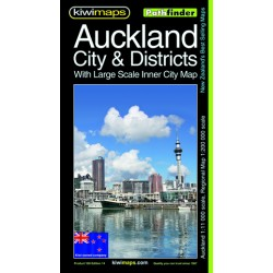 Auckland City & Districts Pathfinder Map 100
