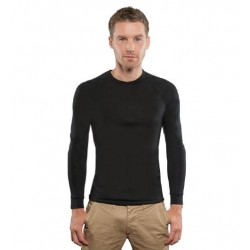 Merino Long Sleeve Top - Round Neck