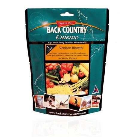 Back Country Cuisine Venison Risotto