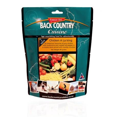 Back Country Cuisine Chicken Tomato Alfredo