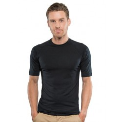 Merino Short Sleeve Top - Black