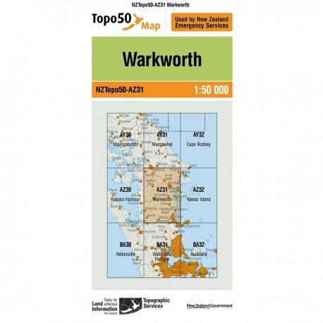 Topo50 AZ31 Warkworth