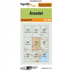 Topo50 BY19 Arundel