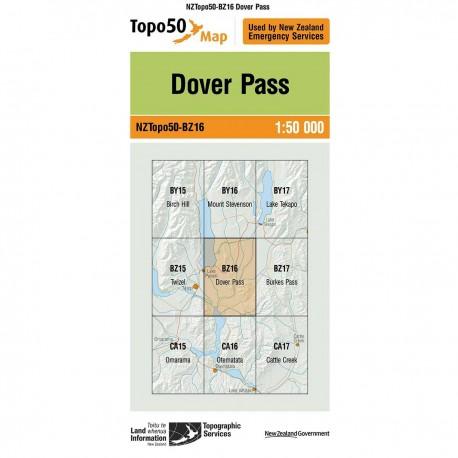 Topo50 BZ16 Dover Pass