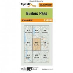 Topo50 BZ17 Burkes Pass