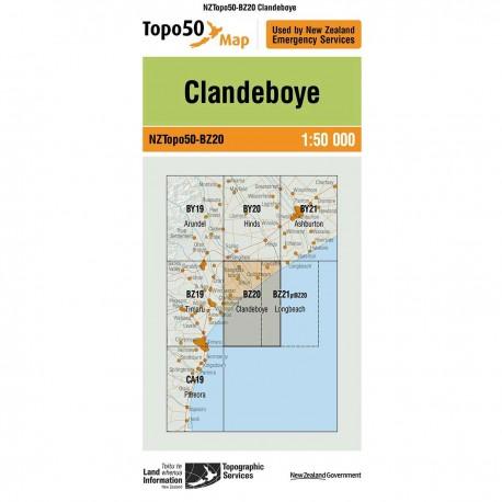 Topo50 BZ20 Clandeboye