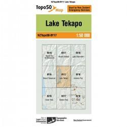 Topo50 BY17 Lake Tekapo