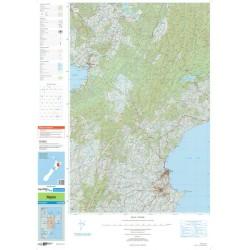 Topo250-10 Napier Map