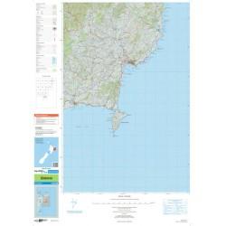 Topo250-11 Gisborne Map