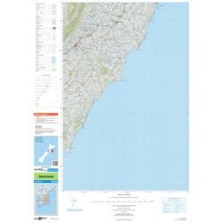 Topo250-15 Dannevirke Map