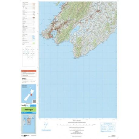 Topo250-16 Wellington Map