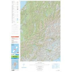 Topo250-19 Kaikoura Map