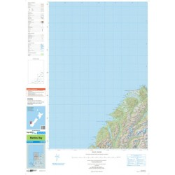 Topo250-20 Martins Bay Map