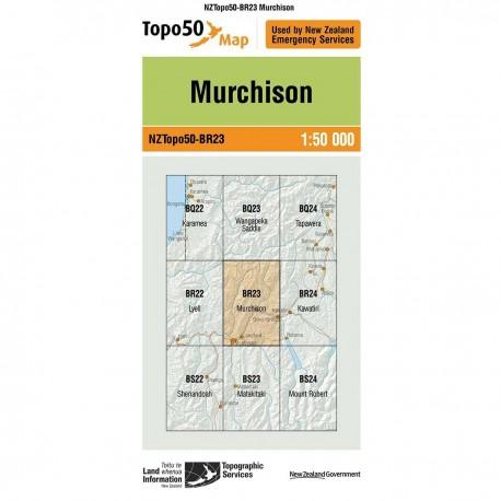 Topo50 BR23 Murchison