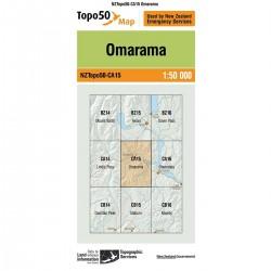 Topo50 CA15 Omarama