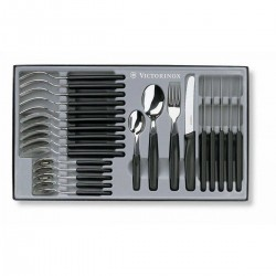 Victorinox 24 Pice table set - Black